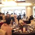 今日の披露宴『太閤園』