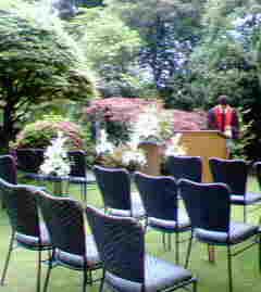 ガーデンチャペル式