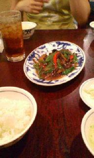 昼から中華