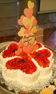 ケーキかわいい!