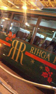 リーガロイヤルのバス