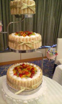 三段ケーキ