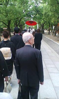雅楽の中花嫁行列