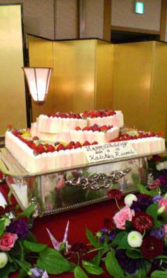 ケーキもかわいい!