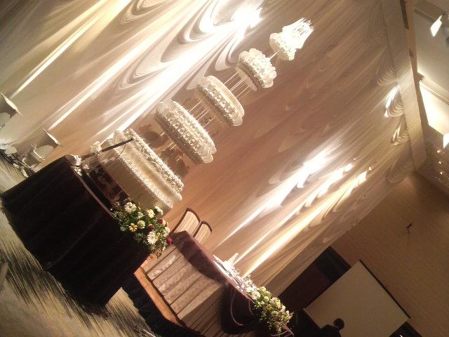 昨日の披露宴ANAクラウンプラザホテル