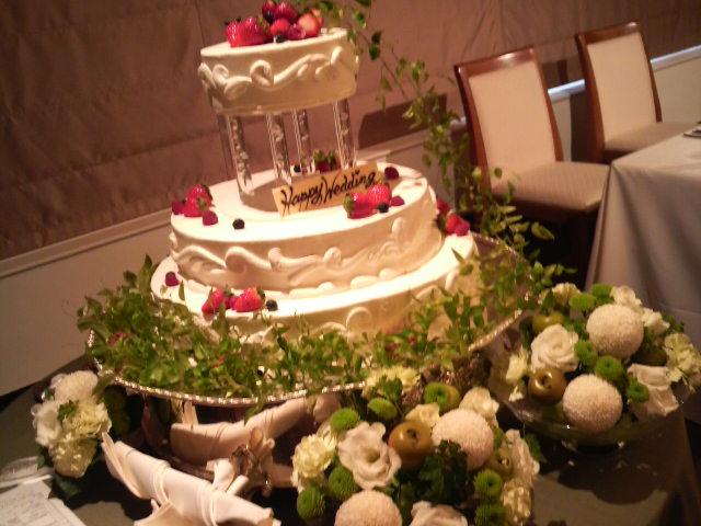 今日の披露宴『クラウンプラザ神戸』