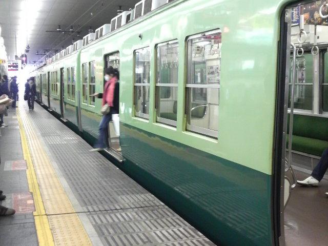 京橋→京都→梅田