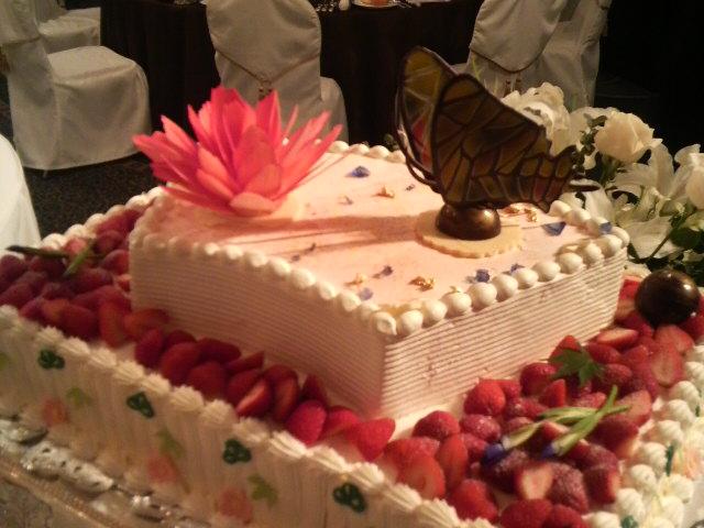 今日の披露宴『神戸ポートピアホテル』