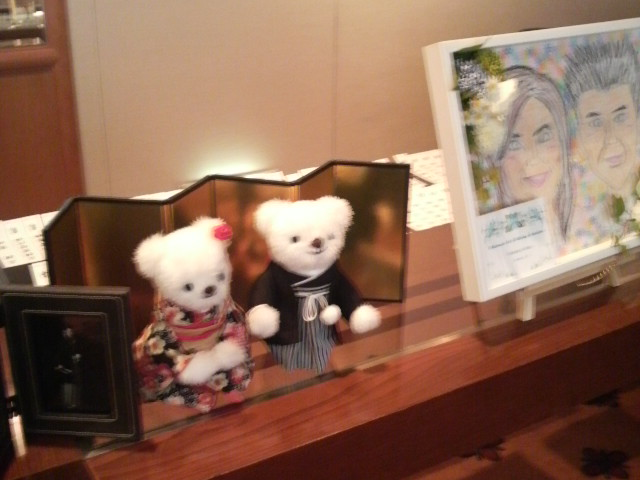 昨日の披露宴『ヒルトン大阪』
