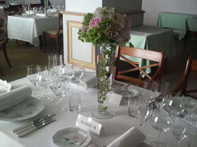 昨日の披露宴『ポートピアホテルアランシャペル』