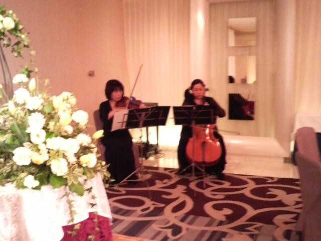 今日の披露宴『ホテルニューオータニ大阪』