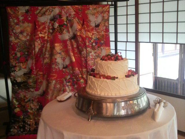 今日の披露宴『太閤園淀川邸』