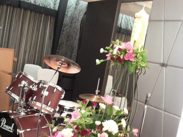 昨日の披露宴『ニューオータニ大阪』