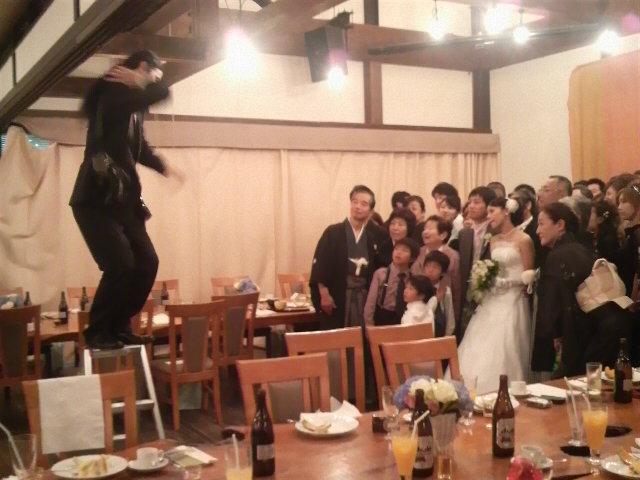 今日の披露宴『あしびの郷』【奈良】