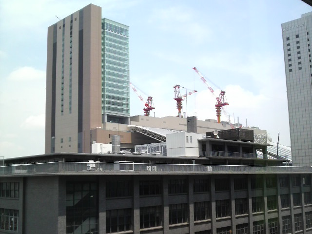 今日の大阪は晴れ!
