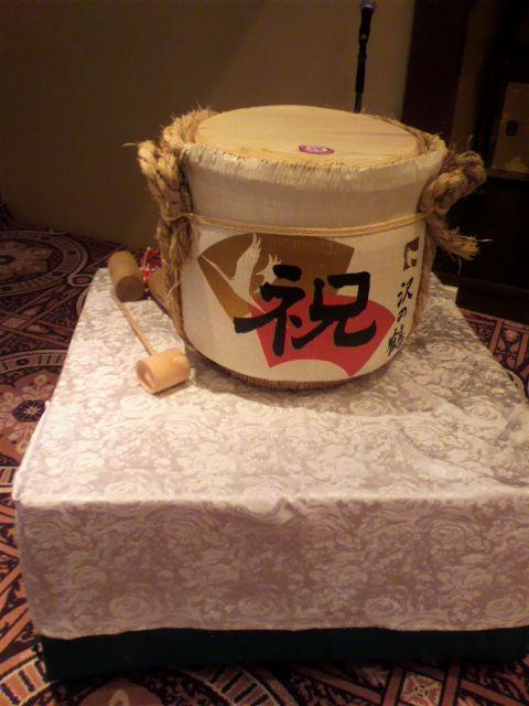 今日の披露宴「太閤園」【大阪】