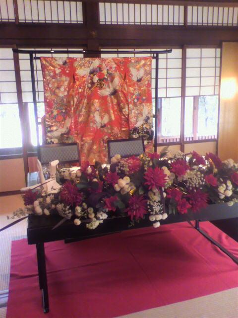 今日の披露宴『太閤園』【大阪】