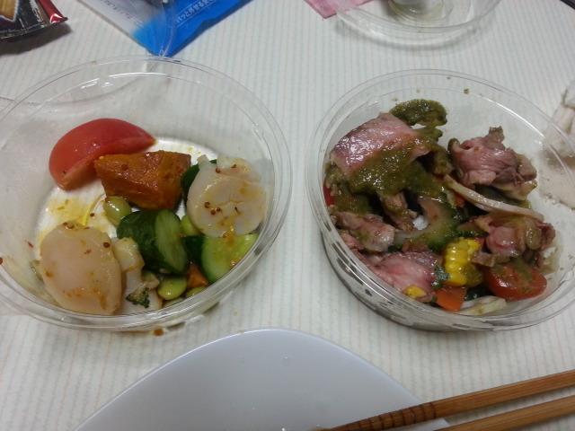 カキヤスのサラダ