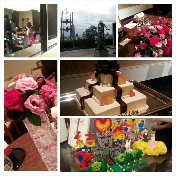 本日の披露宴 ANA<br />  クラウンホテル神戸