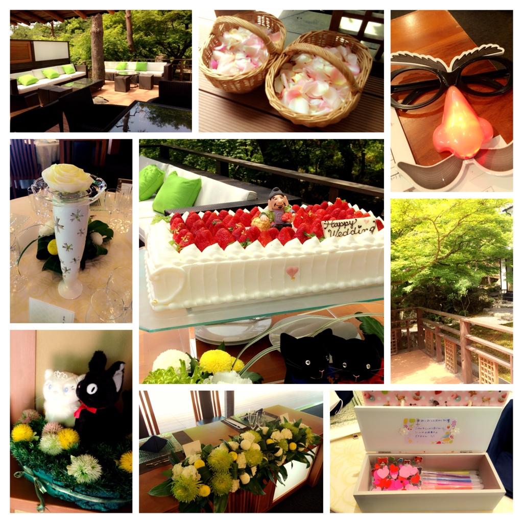☆今日の披露宴 Shozan Resort <br />  京都☆