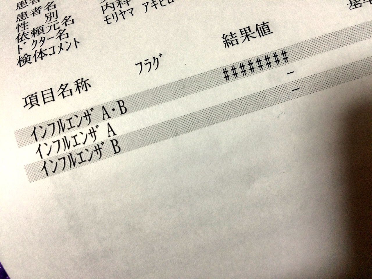 ☆インフル?!☆