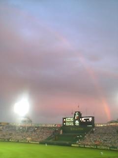 虹と甲子園